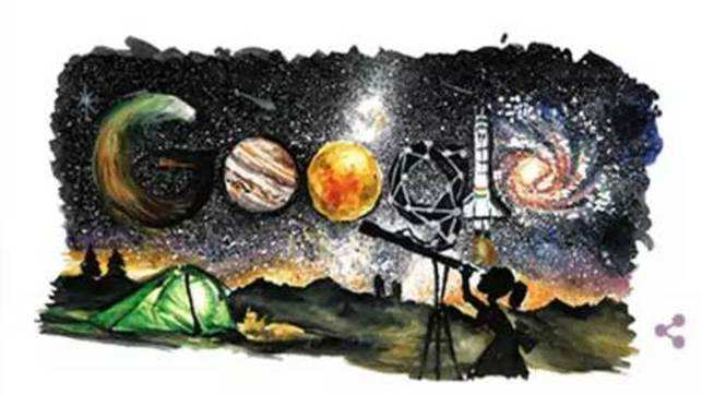 Children's Day celebrated with a Google doodle on space exploration by Mumbai girl