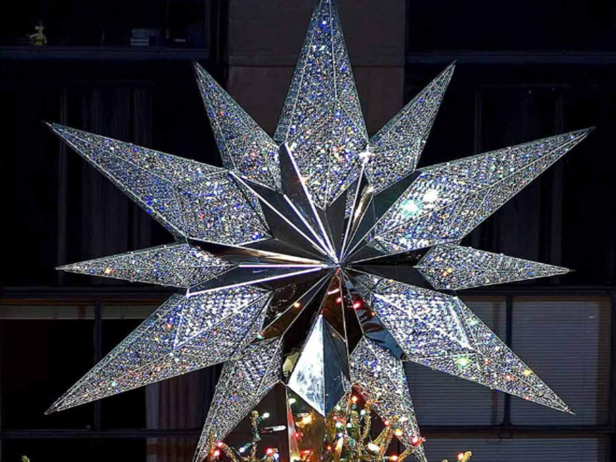 Shining Bright Rockefeller Center Christmas Tree Gets New Star With