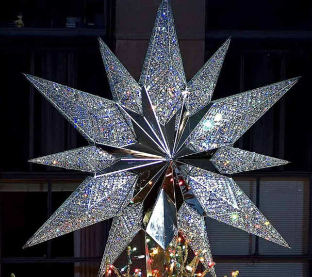 ... the world-renowned master-plan architect for the reconstruction of the  World Trade Center, first saw the Rockefeller Center Christmas tree as a  teenager ... - Shining Bright: Rockefeller Center Christmas Tree Gets New Star With