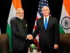 PM Modi, US VP Mike Pence discuss defence, trade in Indo-Pacific