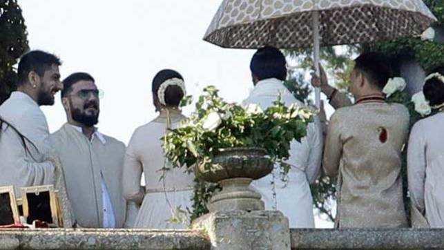 Watch: Deepika-Ranveer's dreamy wedding, guests wear white