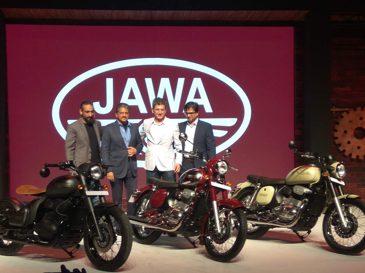 jawa bike price: mahindra revives classic jawa brand, launches 3