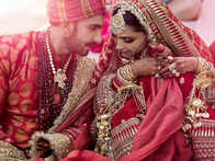 Love & laughter: Deepika Padukone, Ranveer Singh post pics from gorgeous Lake Como wedding, caption it with a heart