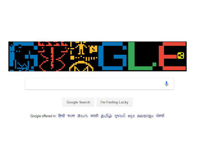 Google dedicates doodle to mark 44th anniversary of the Arecibo Message