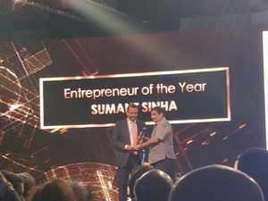 ET Awards 2018: ReNew Power's Sumant Sinha gets 'Entrepreneur of the Year'