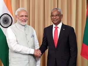 PM Modi holds talks with Maldivian President Ibrahim Solih