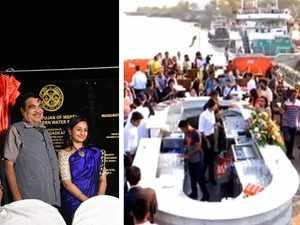 Mumbai: Nitin Gadkari inaugurates two floating restaurants