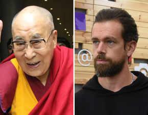Dalai Lama didn't appreciate Jack Dorsey's nose ring!