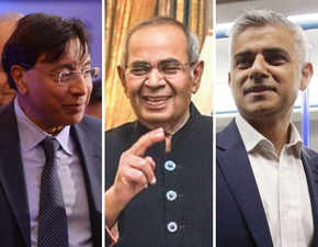Hindujas throw Diwali bash in London; Lakshmi Mittal & Sadiq Khan enjoy a vegetarian spread