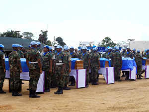 Indian peacekeeper injured in rebel attack in Congo