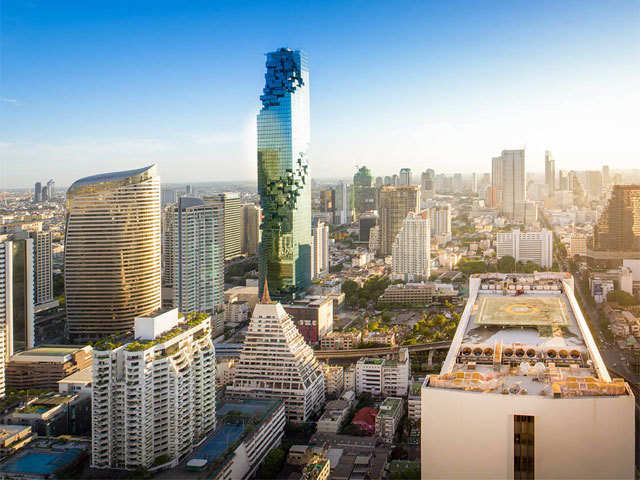 Thailand's first skywalk in Bangkok is not for the faint-hearted