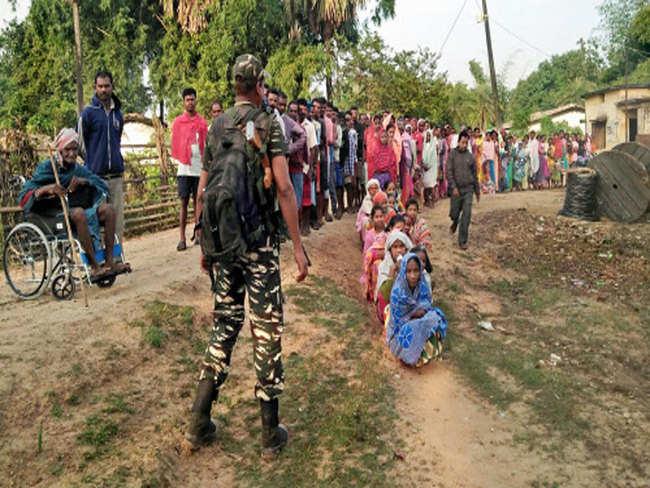 Chhattisgarh polls: 12.5% voter turnout till 10 am