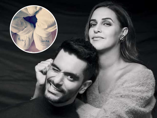 Meet Mehr: Neha Dhupia & Angad Bedi's new-born daughter
