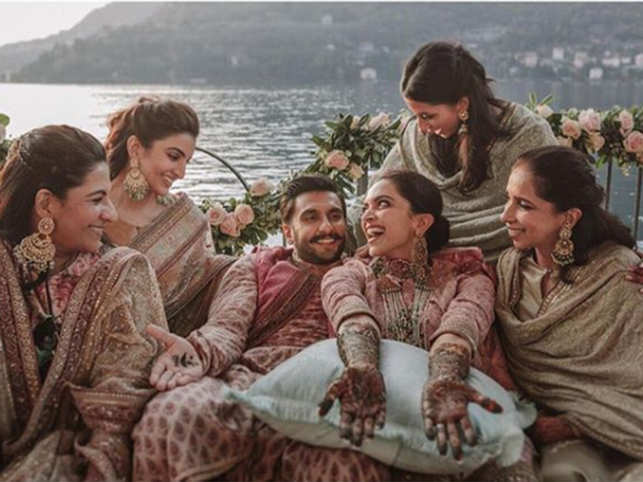 2b123808a8b Deepika Padukone and Ranveer Singh s mehendi pictures from Lake Como look  right out of bridal dreamland
