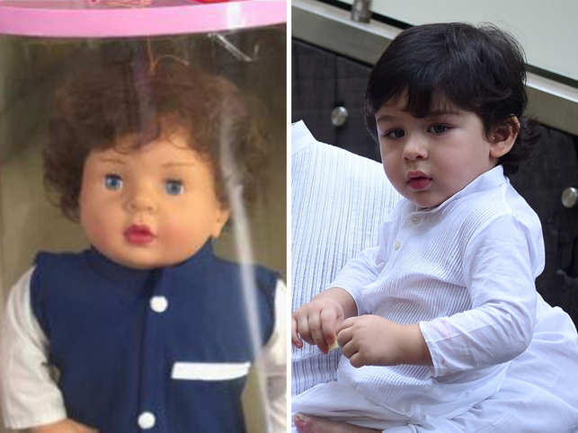 Not G.I. Joe or Barbie, a toy store in Kerala is selling Taimur doll