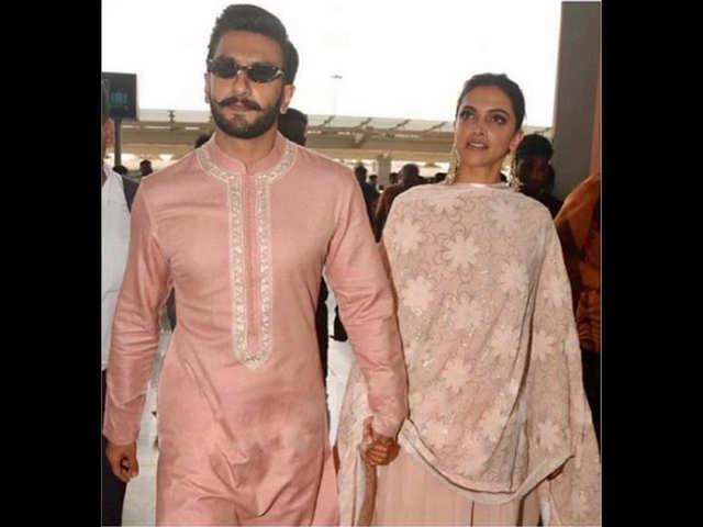 Pink's the colour of love! Bengaluru done, Deepika-Ranveer head home to Mumbai