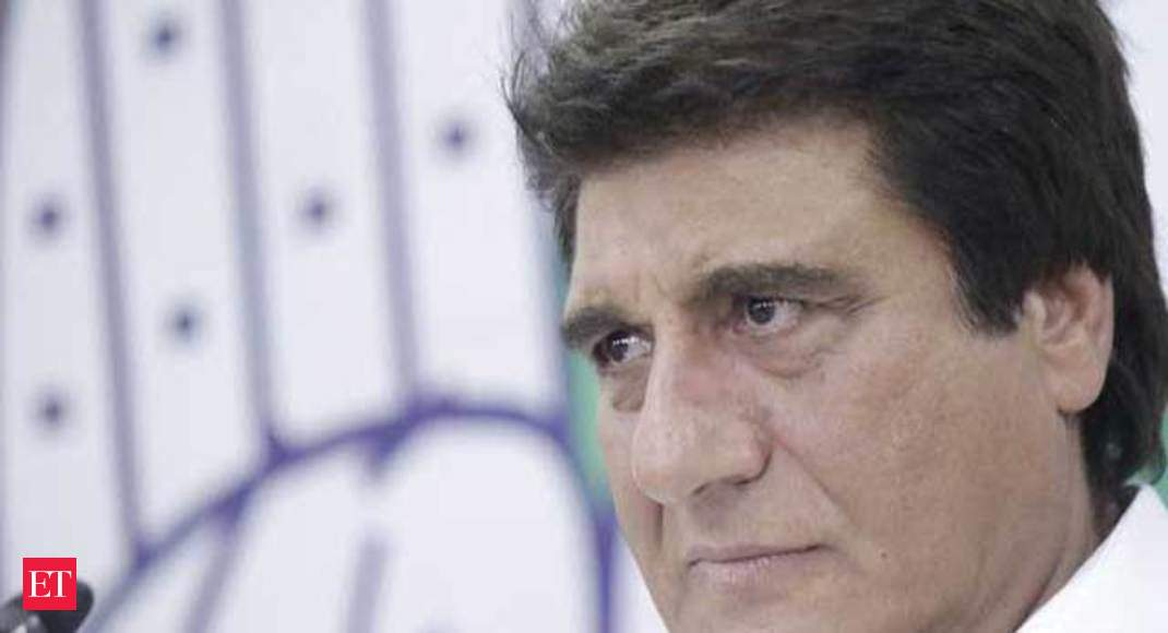 Congress MP Raj Babbar mocks PM's mother says value of Rupee has reached  her age