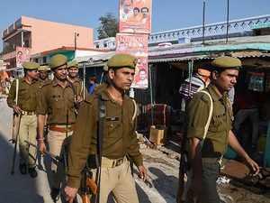 Security beefed up in Ayodhya ahead of 'Dharma Sabha'