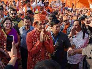 Yogi Adityanath said Ram Mandir is there & will remain there, sadly we can't see it: Uddhav Thackeray