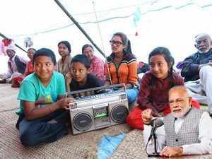 Mann Ki Baat apolitical, addresses aspirational India: PM Modi on 50th episode