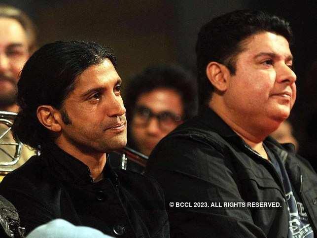 Farhan Akhtar and Sajid Khan