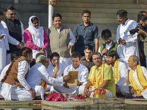Rahul Gandhi pushkar_PTI