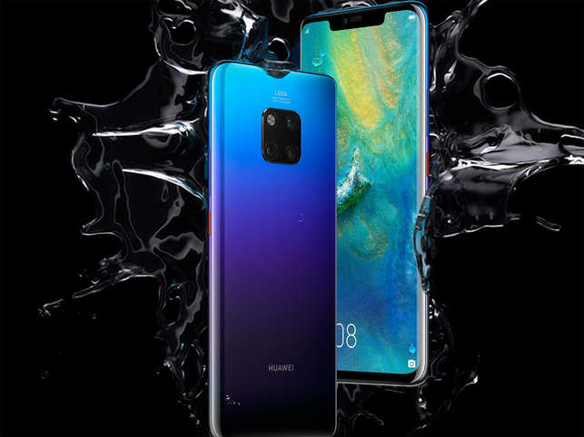 Mate 20 Pro Huawei Unveils Mate 20 Pro With 3d Face Unlock At Rs