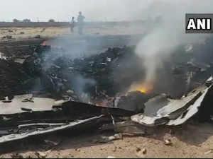 IAF trainer aircraft crashes in Telangana, pilot escapes