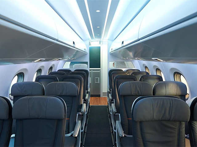 Brilliant Embraer New E190 E2 Passenger Jet Has No Middle Seats Machost Co Dining Chair Design Ideas Machostcouk