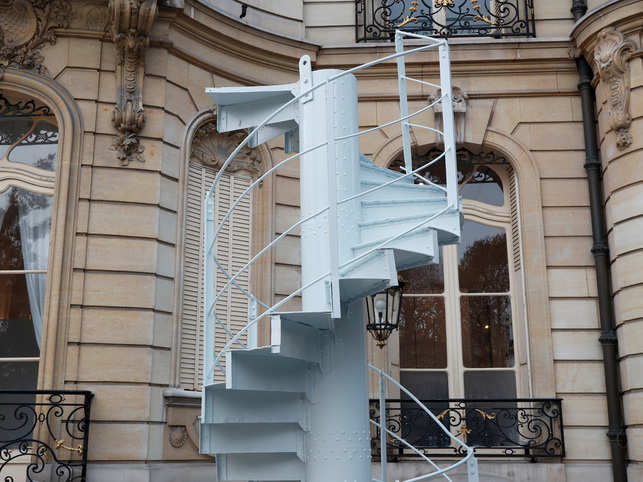Piece of Eiffel Tower staircase