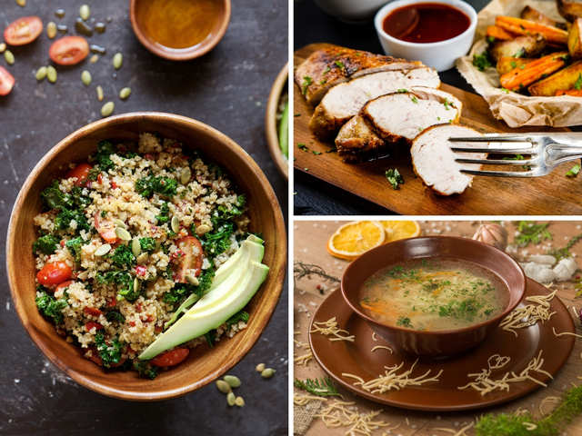 Quinoa salad, roasted chicken & noodle soup: Ideas to make winter meals healthier