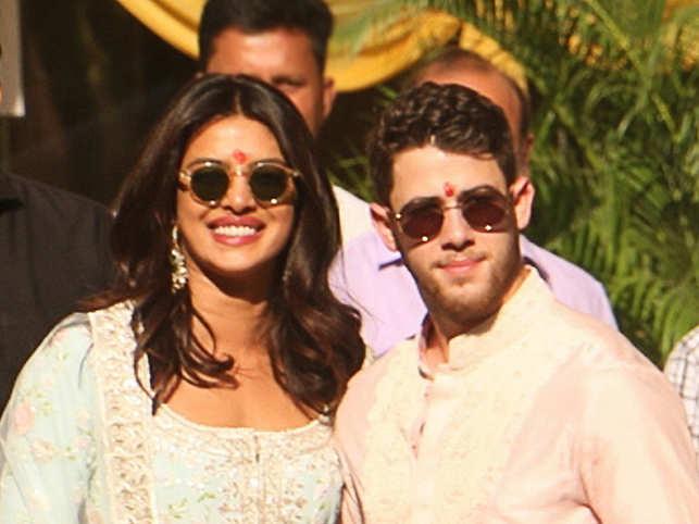 Priyanka Chopra, Nick Jonas kick off  wedding celebrations with puja