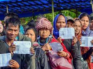 75 per cent voter turnout recorded in Mizoram assembly polls
