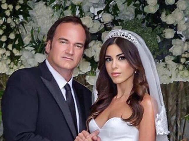 Quentin Tarantino Daniella Pick Exchange Vows In A Private Wedding