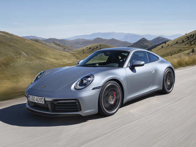 All-new 911 is here! Porsche shows off revamped edition of sports car at LA Auto Show