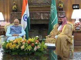 Watch: PM Modi holds bilateral meeting with Saudi Crown Prince
