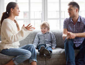 Let children see a healthy conflict, it can help them cope with negative emotions