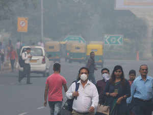 Air Pollution Linked To Slower >> Pollution In Delhi Delhi S Air Quality Very Poor To Worsen Over
