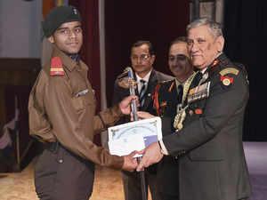 Army not yet ready for women in combat roles: Gen Rawat