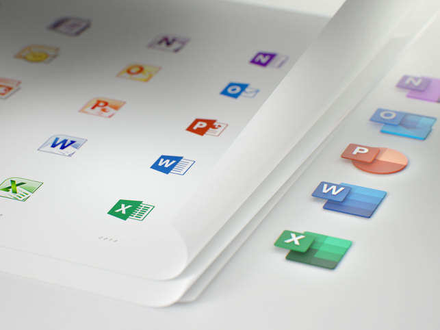Microsoft redesigns Office icons on Windows