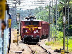 court officials attempt to attach train engine for non payment of