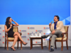 A lighter vein: ETNow's Ayesha Faridi and First Global's Shankar Sharma hit the ground running