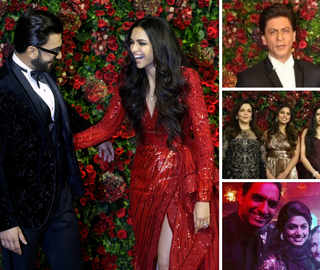 Deepika-Ranveer's Mumbai Reception: Ambanis, Bachchans Arrive In Full Force, SRK-Dhoni Look Dapper