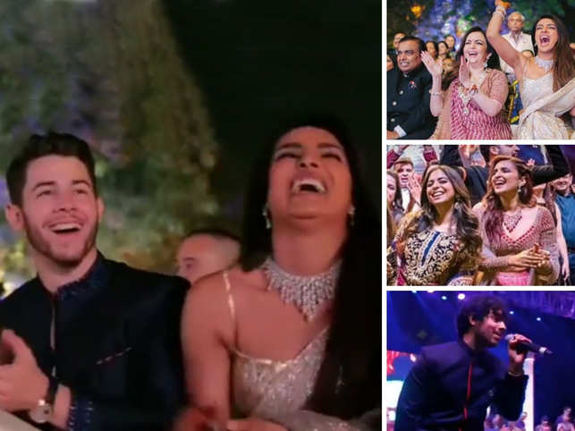 Priyanka-Nick share Sangeet pictures