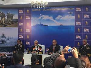 Navy looking at inducting 56 warships and submarines: Admiral Lanba