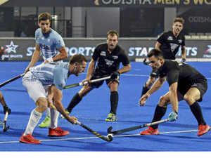 Argentina Thrash New Zealand In Men S Hockey World Cup
