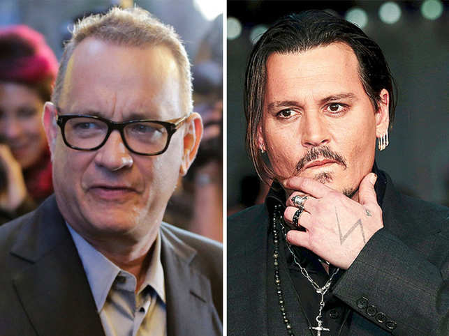 Tom Hanks Johnny Depp Feared That Tom Hanks Would Take His Role In