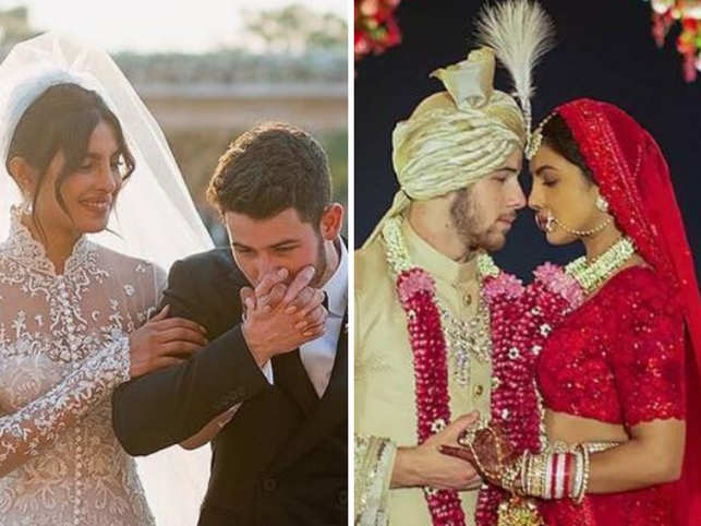 Wedding pictures of Priyanka Chopra & Nick Jonas are out