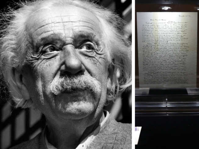 Einstein letter doubting God auctioned for $2.89 mln