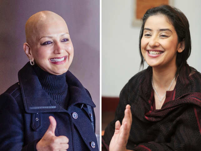 Sonali Bendre returns home after 5 months treatment